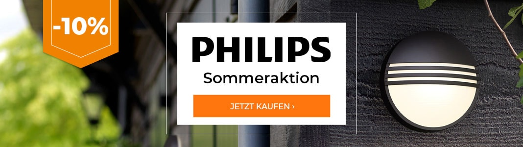 Philips Sommeraktion -10%