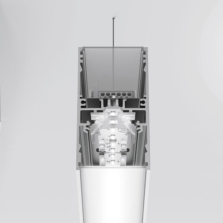 Artemide Architectural A.39 L1184 AR AT13005 Silber