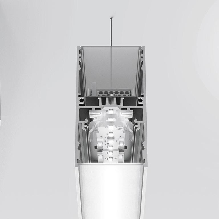 Artemide Architectural A.39 L1480 AR AT14104 Schwarz