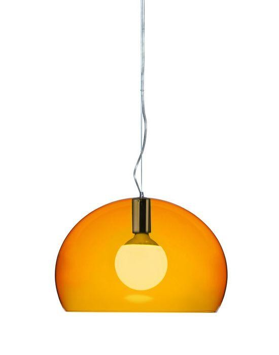 Kartell FL/Y KA 9053K4 Transparent orange