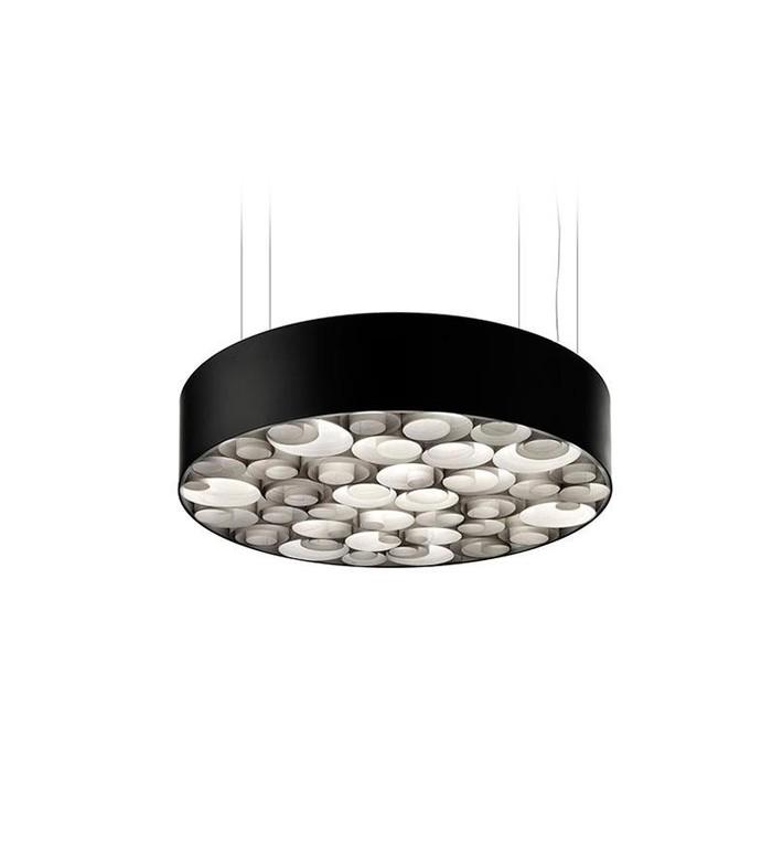 LZF Spiro SM LED DIM 1-10V LZ SPROSMLED10V29B Grau / schwarz