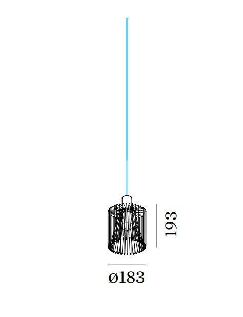 Wever&Ducre Wiro WIRO 1.8, SHADE WE 209200V0 Rostig